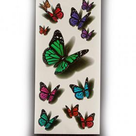 """3D flash taty """"Butterfly"""""""