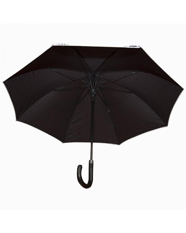 """Зонт трость """"Горох"""", монохром2"""