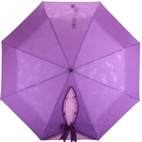 """Зонт трость """"Бант"""", фиолетовый"""
