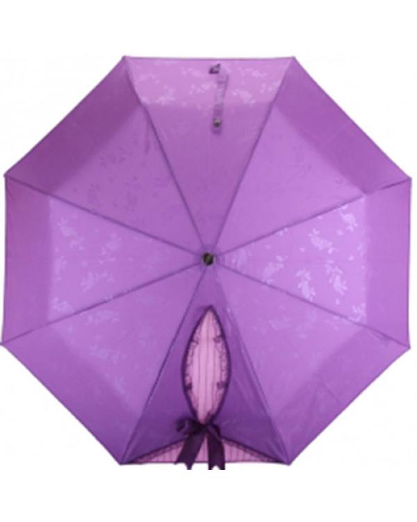 """Зонт трость """"Бант"""", фиолетовый попробуем поднять себе настроение!"""