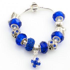 """Браслет в стиле Pandora """"Royal blue"""""""