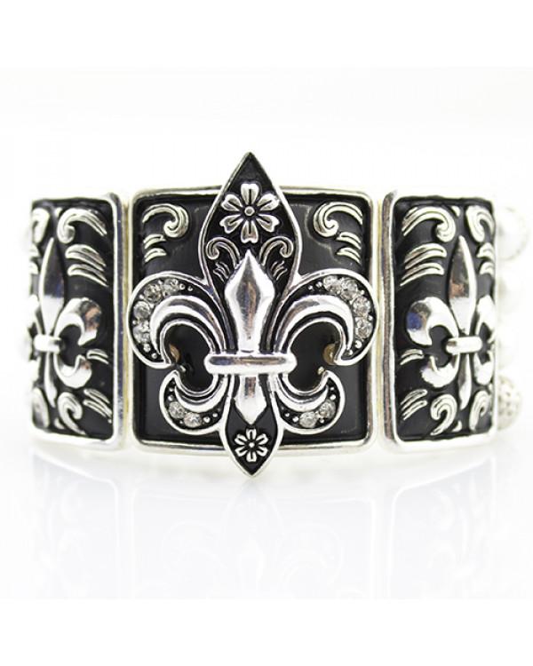 Браслет Королевская лилия  - купить винтажный браслет так просто!