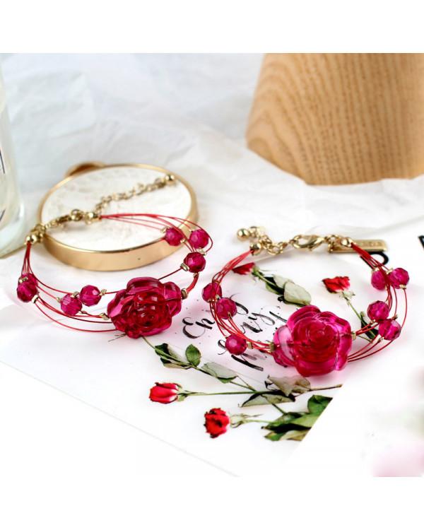 Браслет брендовая бижутерия элитная недорого распродажа Розы