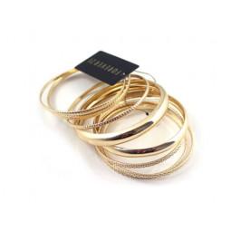 """Набор браслетов """"Forever gold"""", 8 штук, Уценка"""