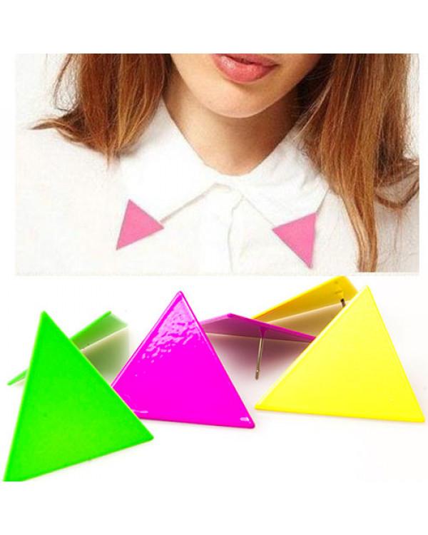 "Серьги треугольники ""Luminescence""-2. Магазин Soroka.me"