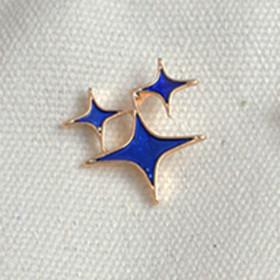 Брошь пин Blue Star