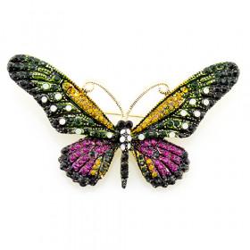 Брошь Легкость бабочки