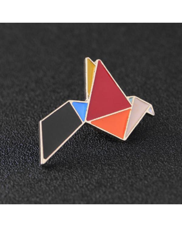 Брошь Птица Оригами  - модные броши оригами, оригинальные и стильные ждут тебя на Сорока.Ми