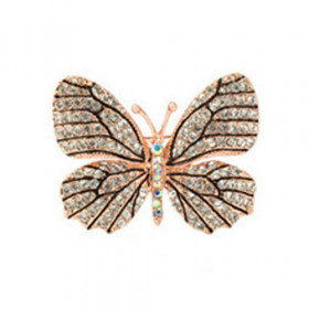 Брошь Красивая бабочка