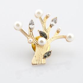 """Брошь """"Pearl tree"""""""