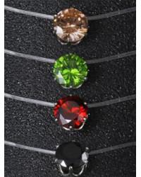 Купить колье невидимку или кулон кристалл на леске недорого в Киеве и Украине просто на Сорока.Ми