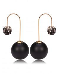 Купить серьги Диор (Mise en Dior), серьги-шарики Диор, пуссеты диор просто на Сорока.Ми