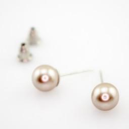 "Пусеты ""La perle"" nika"