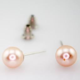 "Пусеты ""Pink pearl"""