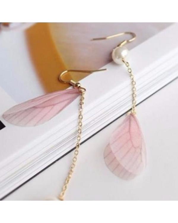 Длинные серьги Бабочки - нежные крылья порхают! Посмотри!