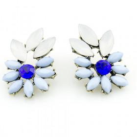 Синие серьги Zara blue