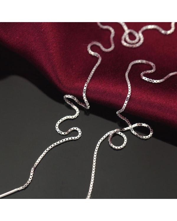 Серьги протяжки купить недорого хотите? Silver Dream - красивые серьги цепочки ждут вас!