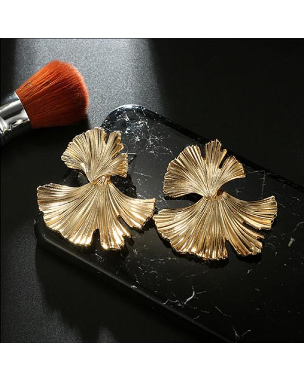 Модные серьги бижутерия купить недорого просто! Серьги листья Гинко Гилоба - круты и стильны!