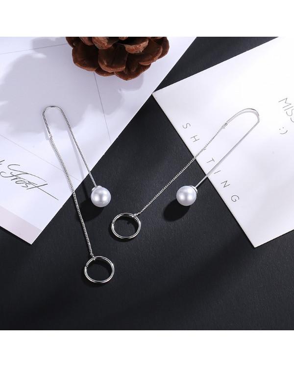 Купить серьги протяжки недорого можно прямо сейчас! Эта модная пара серебро и жемчуг вам точно понравится!