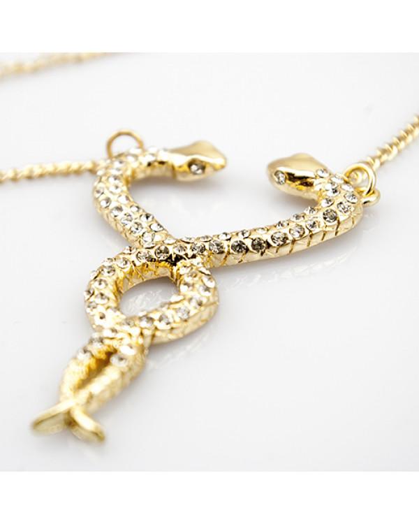 Колье бижутерия Змея - шикарное украшение бижутерия оптом и в розницу