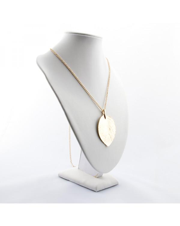 Кулон на цепочке Листик - украшения листья купить на сайте бренда Сорока.Ми можно дешево
