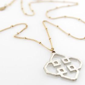 """Кулон на цепочке """"Кельтский символ удачи"""""""