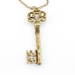 "Кулон на цепочке ""Ключ на удачу"""