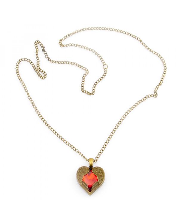 Кулон сердце - стильный аксессуар с легкостью станет как повседневным украшением