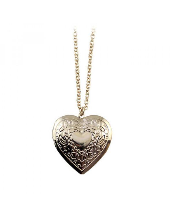 """Кулон на цепочке """"Открытое сердце"""" Да - внутрь него еще можно и положить памятную вещицу."""
