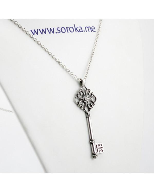 "Кулон ""Ключ"", серебро Выбирайте свои кулоны в Киеве"