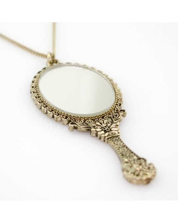 """Кулон на цепочке """"Венецианское зеркало"""" Впечатляющие красивые кулоны"""