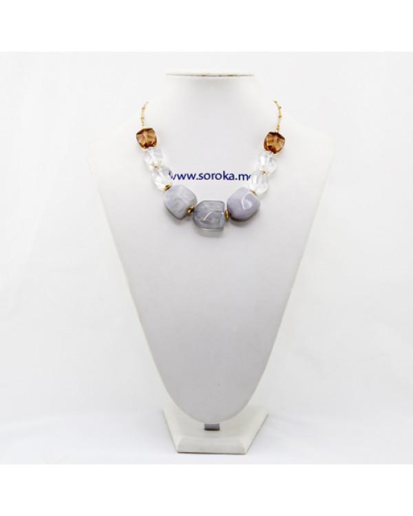 Ожерелье из камней  - купить колье по последней моде так просто!