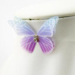 Чокер на леске Кристал с бабочкой