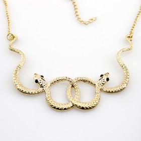 Колье Змеи, gold