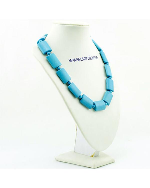 Колье бусы из бирюзы - сила камня и красота в одном украшении!