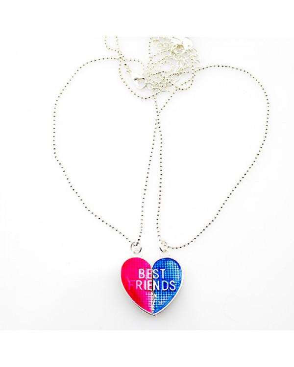 Кулоны половинки - парные кулон Сердце Best Friends по супер цене!