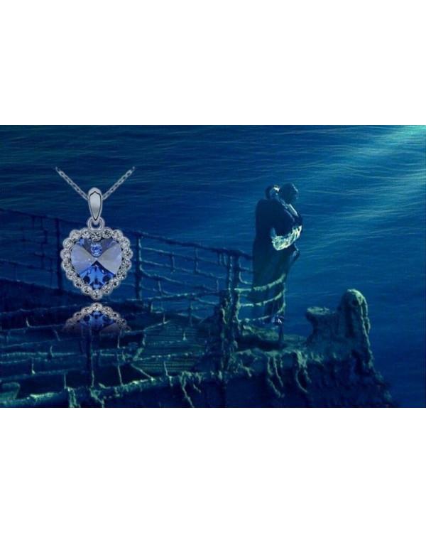 Кулон Сердце Океана - кулоны для влюбленных дешево - живут на Сорока.Ми