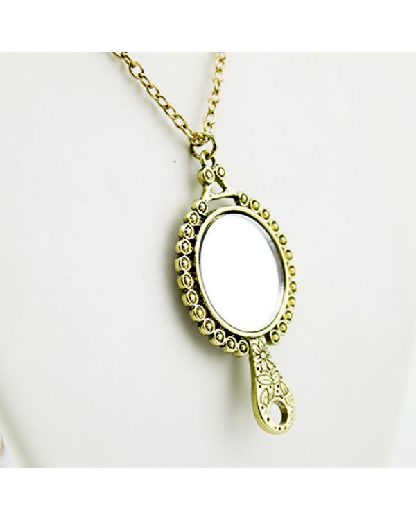 Кулон Зеркало - стильное украшение оберег недорого - заходи скорей!
