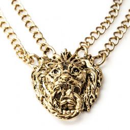 """Колье """"Отважный лев"""""""