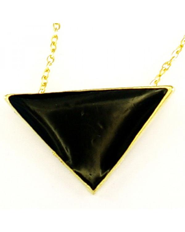 Кулон треугольник - модное минималистичное колье купить недорого легко с брендом Сорока.Ми
