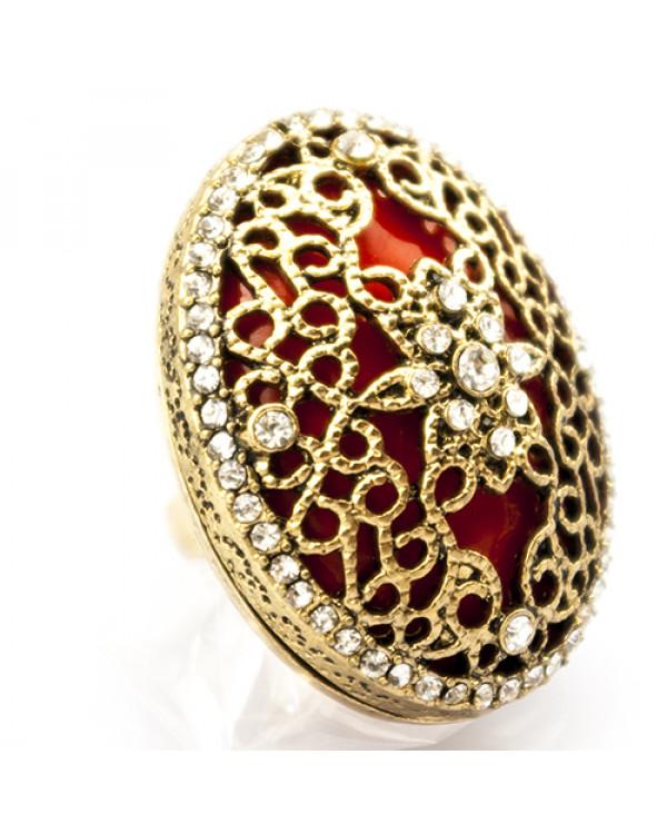 Массивное кольцо «Эклектика». Магазин Сорока