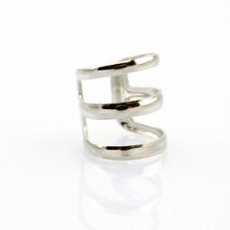 Кольцо-серьга. 1 украшение - 2 решения!  серебро
