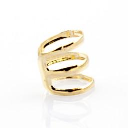 Кольцо-серьга. 1 украшение - 2 решения!  золото