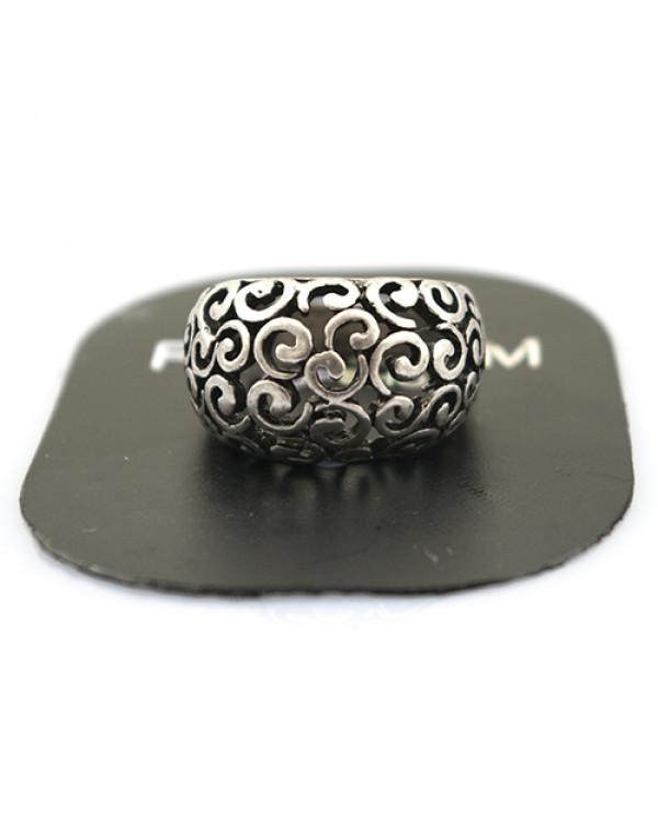 Стильное кольцо тонкой работы - изящное. как Вы! от Сорока.Ми