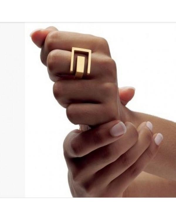 Черное кольцо - стильное кольцо бижутерия купить просто с Сорока.Ми