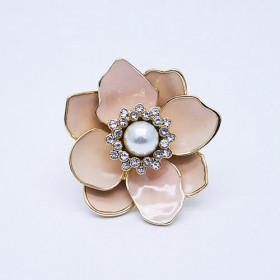 Коктейльное кольцо Цветок