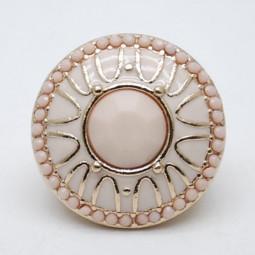 Массивное кольцо Pudra