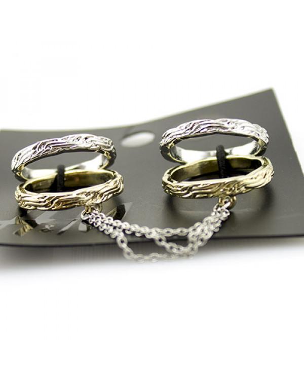 Кольца с цепочкой - набор бижутерии высокого качества  по супер ценам от Сорока.Ми