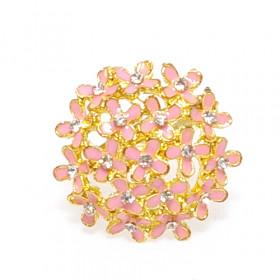 """Кольцо """"Букет"""" золото розовое"""