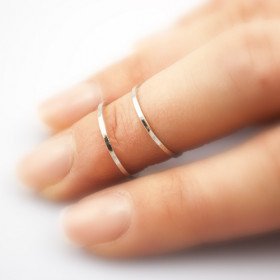 "Кольцо на фаланги ""Мия"", серебро"